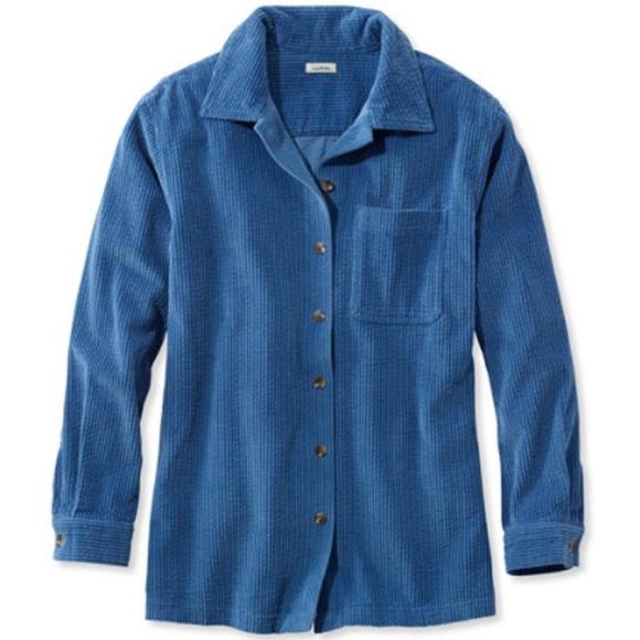 b72e2eb8f8c L.L. Bean Tops - LL Bean Comfort Corduroy Big Shirt